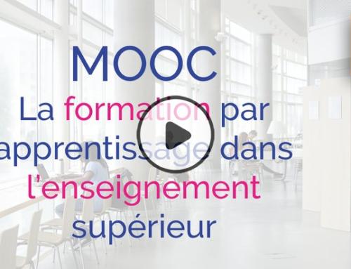 MOOC : La formation par apprentissage dans l'enseignement supérieur