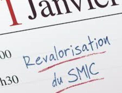 Augmentation du SMIC au 1er Janvier 2021