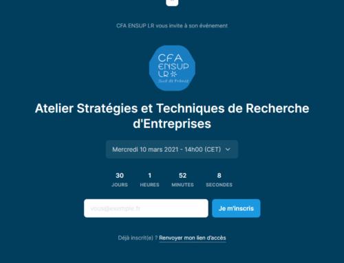 Atelier de Techniques et de Recherche d'Entreprises